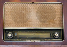 Gammal radiobakgrund Royaltyfri Fotografi
