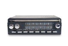 gammal radioset Arkivfoto