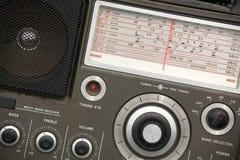 gammal radioset Royaltyfri Bild