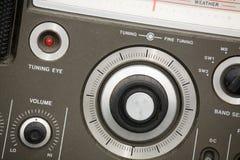 gammal radioset Fotografering för Bildbyråer