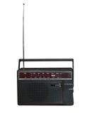 gammal radiotransistor royaltyfri fotografi