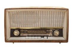 Gammal radiouppsättning Royaltyfria Foton