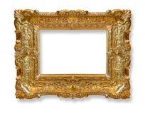 Gammal ram för guld fotografering för bildbyråer