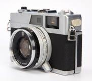 gammal rangefinder för kamera Arkivfoto