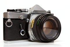 gammal reflex för kamera royaltyfria foton
