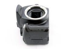 Gammal reflexkamera Arkivbild