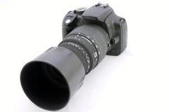 Gammal reflexkamera Fotografering för Bildbyråer