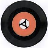 gammal registrerad vinyl Arkivbild