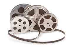 gammal remsa för film arkivfoton