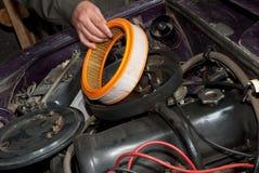 gammal reparation för bil Royaltyfri Fotografi