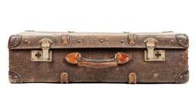 gammal resväska royaltyfria foton