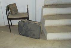 gammal resväska Fotografering för Bildbyråer