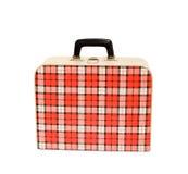 gammal resväskatappning Fotografering för Bildbyråer