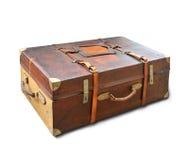 gammal resväska Arkivbild