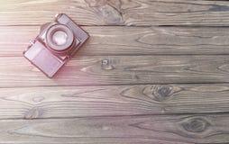 Gammal retro filmkamera bilder arkivbilder