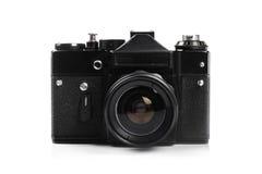 Gammal retro fotokamera Fotografering för Bildbyråer