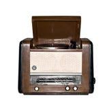 Gammal retro radio. Royaltyfri Fotografi