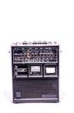 Gammal Retro tappning70-talradio Arkivbilder