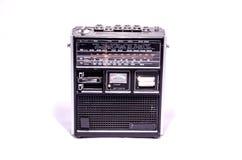 Gammal Retro tappning70-talradio Arkivfoton