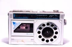 Gammal Retro tappning70-talradio Royaltyfri Foto