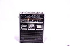 Gammal Retro tappning70-talradio Fotografering för Bildbyråer
