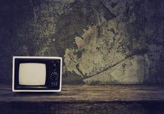 gammal retro tv Arkivbilder