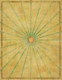 Gammal Retro urblekt pappers- designbakgrund Royaltyfri Foto