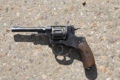 gammal revolver Royaltyfria Foton
