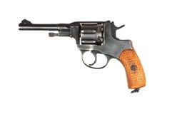 gammal revolver Fotografering för Bildbyråer