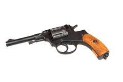 gammal revolver Arkivfoton