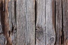 Gammal riden ut träbakgrund Arkivbild