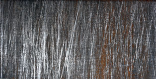 Gammal rostad bakgrund för arkmetall, textur Arkivfoton