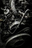 Gammal rostad motor Royaltyfri Fotografi