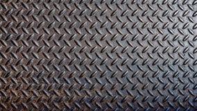 Gammal rostig anti--snedsteg metallplatta stock illustrationer