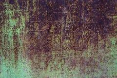 Gammal rostig grungetextur Royaltyfria Bilder