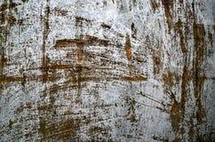 Gammal rostig metall texturerad bakgrund arkivfoto
