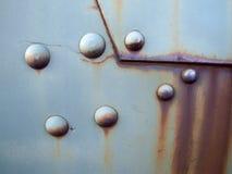 gammal rostig yttersida för metall Royaltyfri Bild