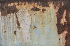 Gammal rosttextur, gammal rosttextur Arkivbilder