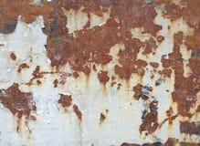 Gammal rostyttersidabakgrund och textur Royaltyfria Foton