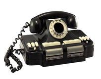 Gammal roterande telefondirektör Fotografering för Bildbyråer