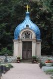 Gammal rysk kyrkogård i Wiesbaden Royaltyfri Foto