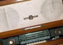 Gammal rysk radio Arkivfoton