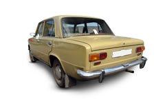 gammal ryss för bil royaltyfria foton
