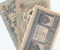 gammal ryss för pengar Arkivbild