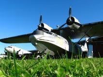 gammal saab för flygplan Arkivbilder