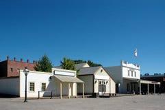 gammal sacramento town Arkivfoton