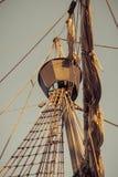 Gammal sailship royaltyfria foton
