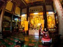 Gammal sakral buddist Kek Lok Si Temple för härligt landskap i Penan fotografering för bildbyråer