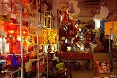 Gammal San Telmo marknad Arkivfoto