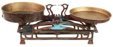 gammal scale för kök royaltyfri foto